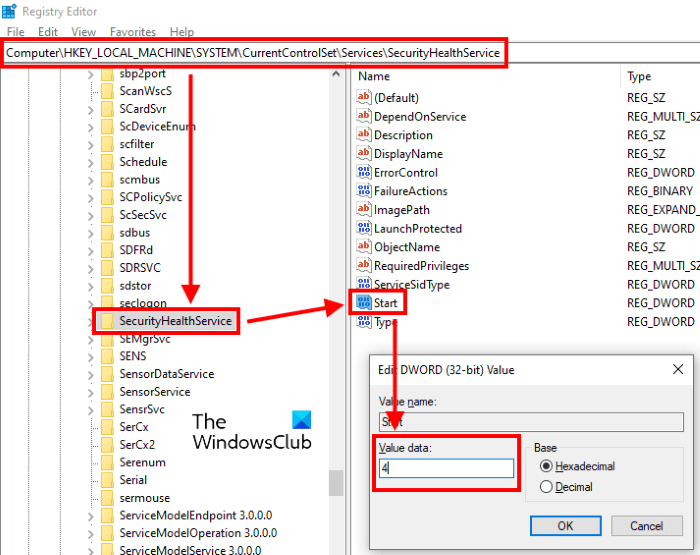disable windows defender security