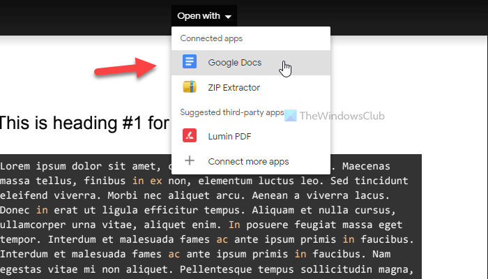 How to edit a PDF in Google Docs