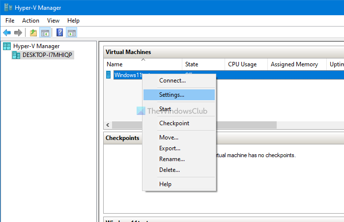 How to enable TPM in Hyper-V to install Windows 11
