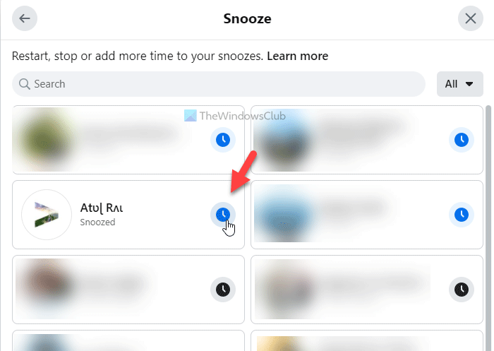 How to find all unfollowed and snoozed Facebook friends, groups, and pages