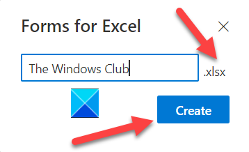 Forms for Excel
