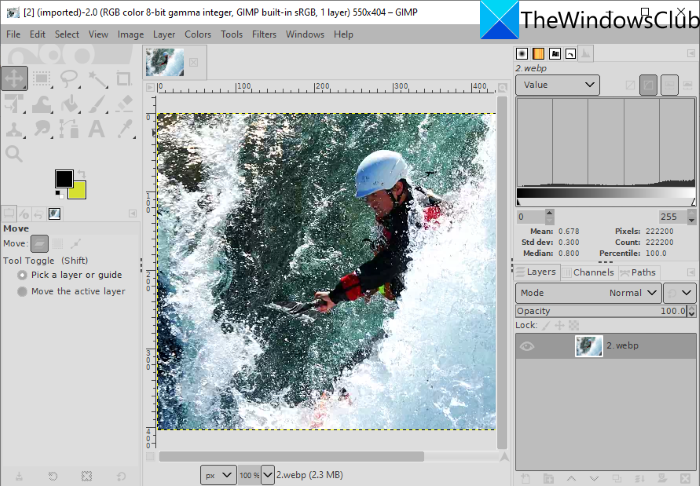 How to Edit WebP Images in Windows