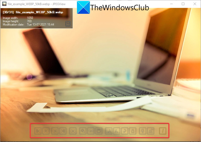 How to Edit WebP Images in Windows 11/10