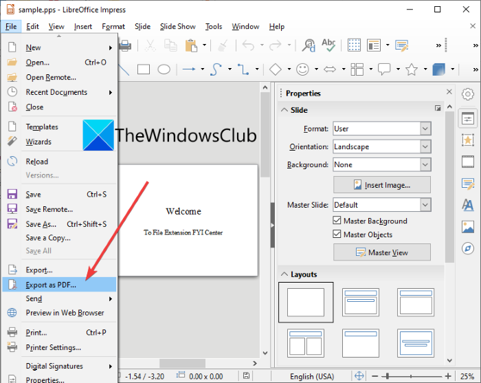 What is a PPS file? How to convert PPS to PDF in Windows 11/10?