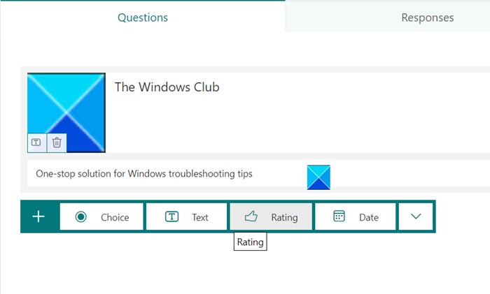 Create online survey using Forms for Excel on OneDrive