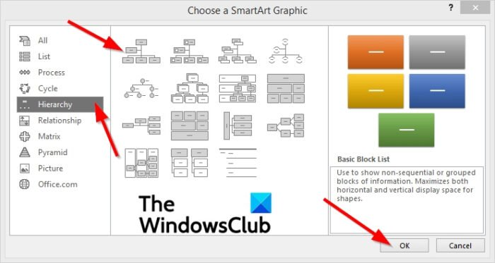 How to create an Organization Chart in Excel