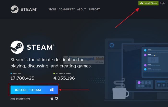 How to Install Steam on Windows PC