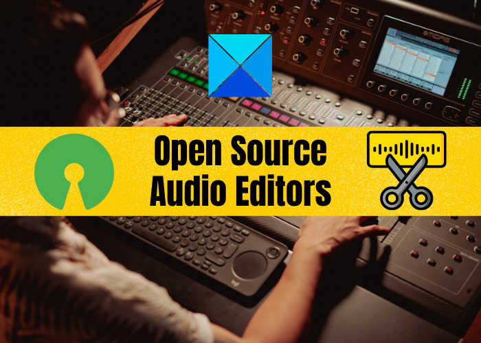 Best free Open Source Audio Editor Software for Windows 11/10