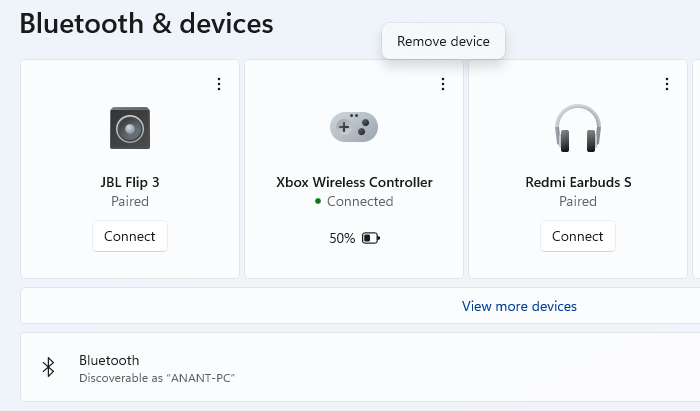 Reconnect Xbox Controller