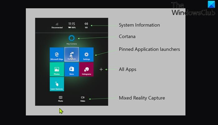 Record Video in Windows Mixed Reality from Start Menu