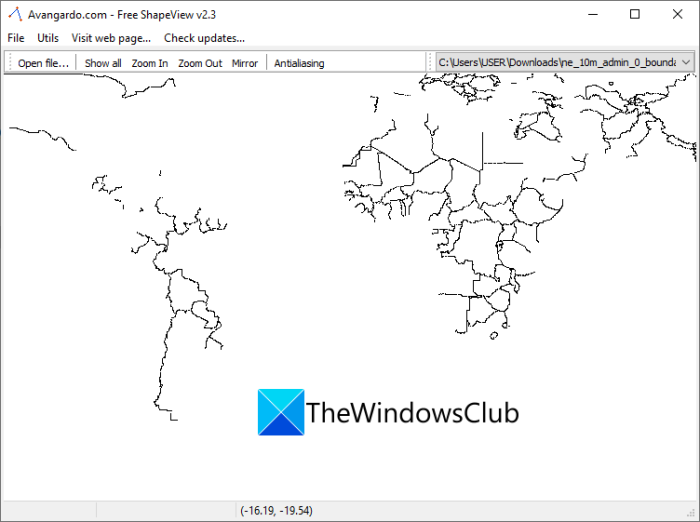 What is Shapefile? How to View a Shapefile in Windows 11/10