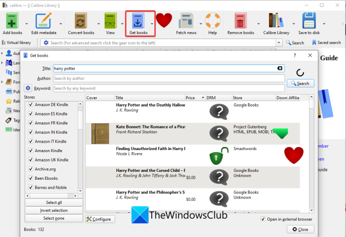 Free software that let you Search and Download free eBooks on PC