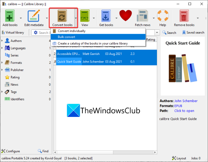 How to convert LIT to EPUB or MOBI
