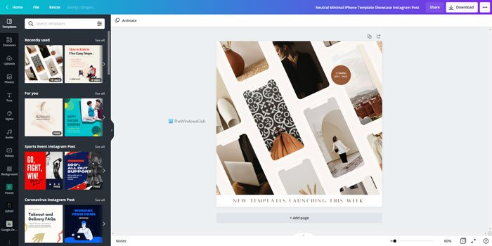 Best Canva templates for Instagram