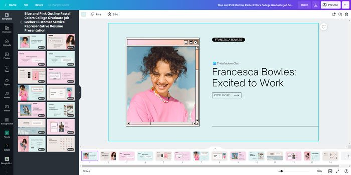 Best Canva templates for presentation