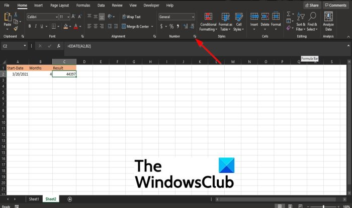 How to convert Serial Number to Date in Excel