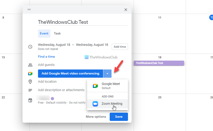 How to connect Google Calendar to Zoom