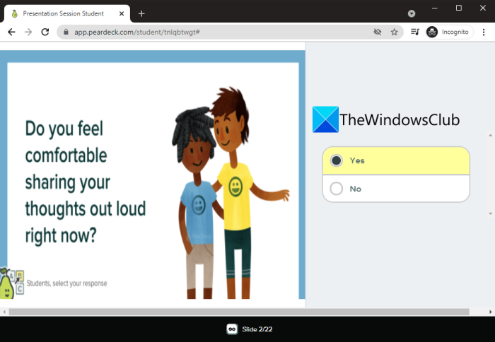 How to create an interactive online presentation on Windows 11/10