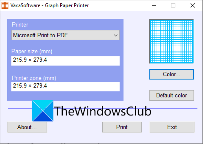 How to make Graph Paper in Windows 11/10