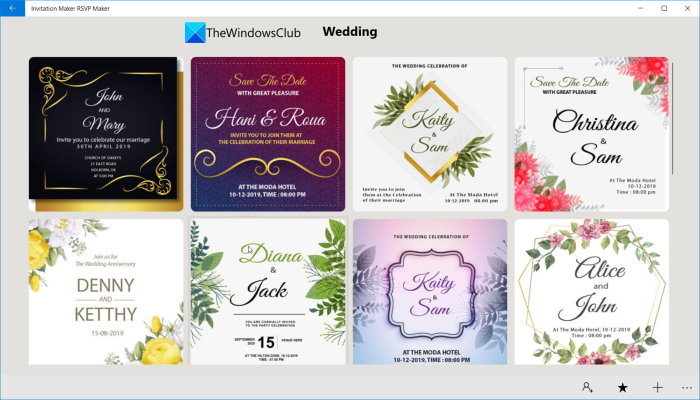 How to make an Invitation Card in Windows