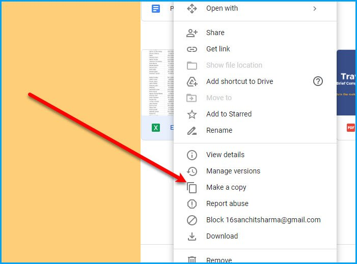 How to move Shared folder to another drive with Permissions in Google Drive