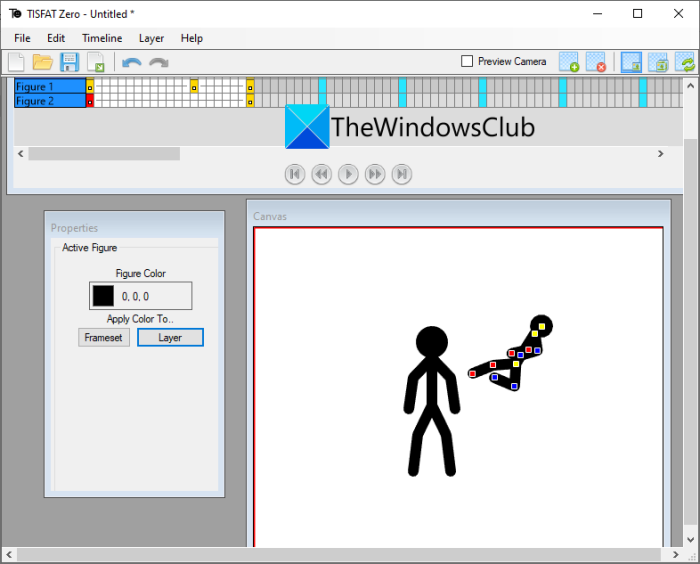 Best Free Stick Figure Animation software for Windows PC