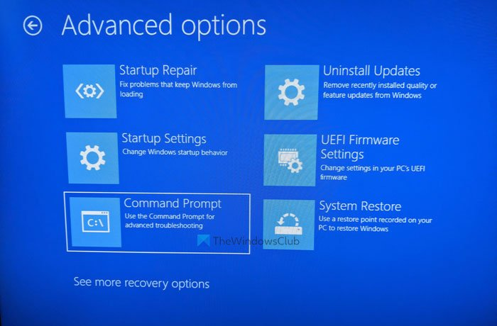 How to uninstall driver using Command Prompt in Windows 11