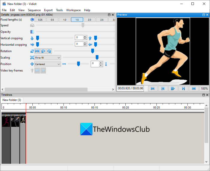 How to create a Video from Image sequence in Windows 11/10