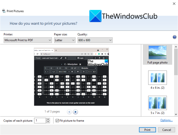 How to merge multiple images to a PDF