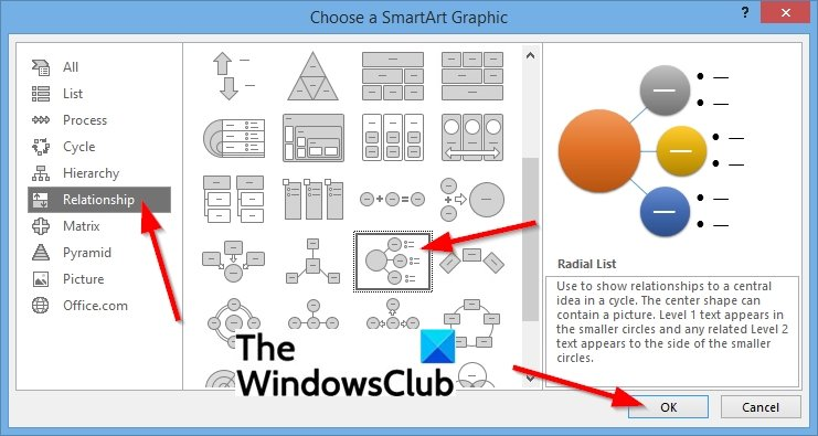 How to create a Radial List in PowerPoint