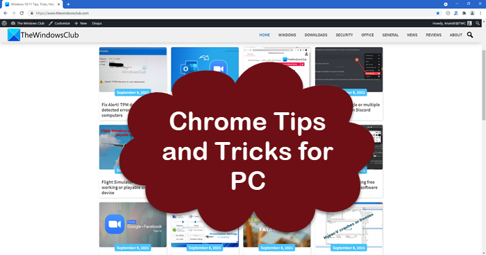 Chrome Tips and Tricks for PC