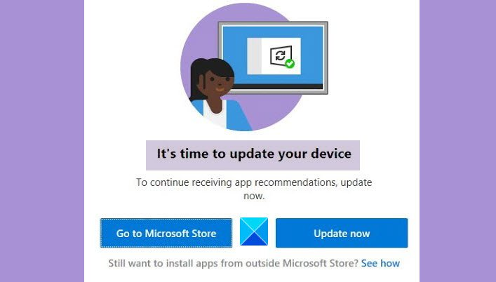 It's time to update your device