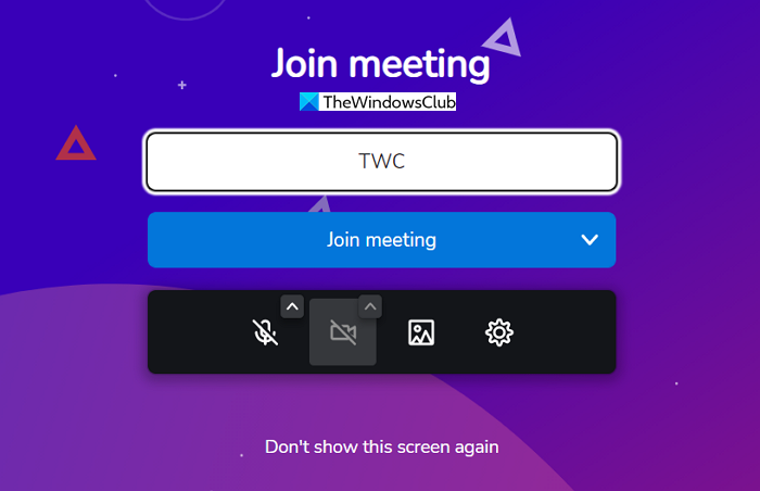 Join Meeting Brave Talk