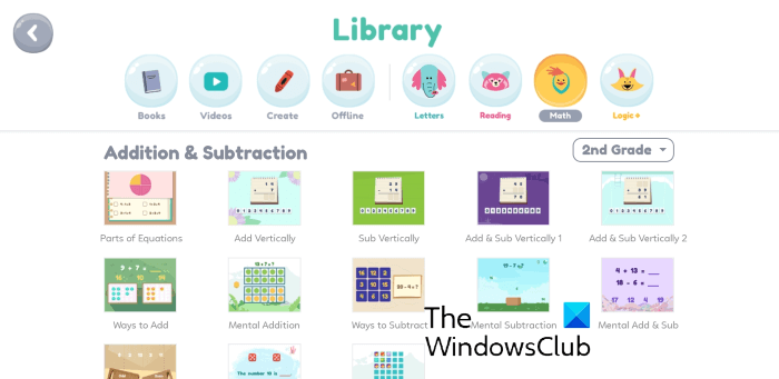 Khan Academy Kids Android app