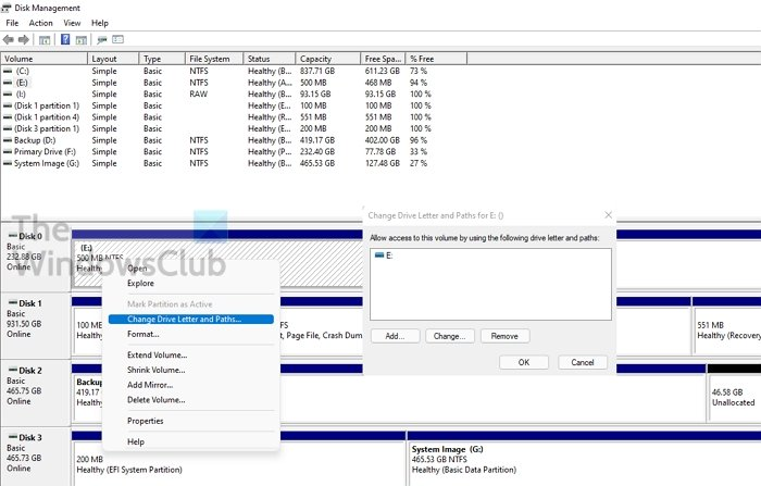 Remove Disk Partition Name from File Explorer
