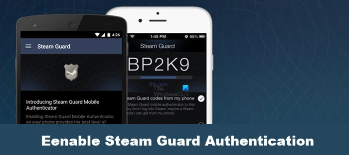 enable Steam Guard Authentication