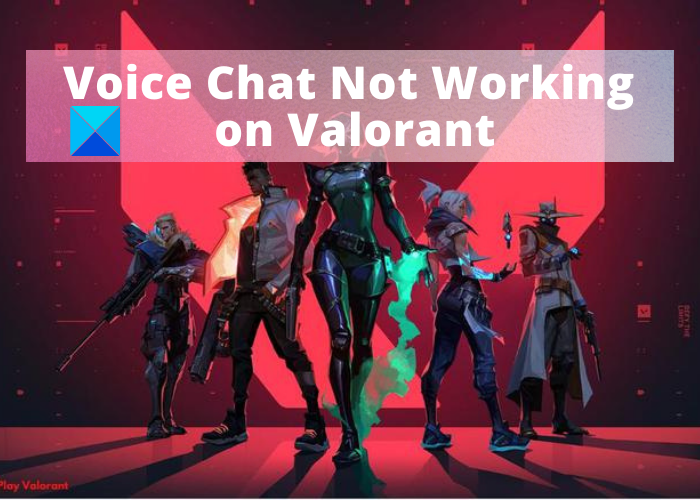 Fix VALORANT Voice Chat Not Working on Windows PC