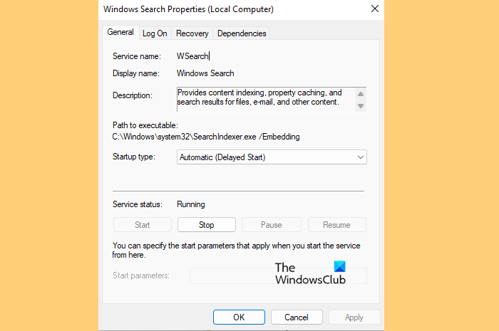 How to configure Indexing Options & Settings for Windows 11 Search