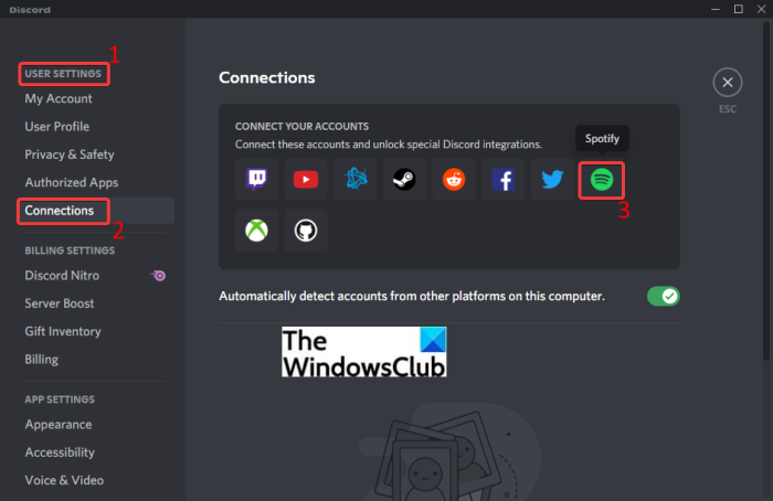How to Connect Spotify or Spotify Discord Bot to Discord