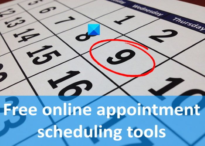 free online appointment scheduling tools