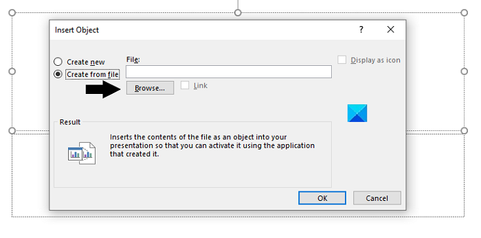 How to insert a PDF in PowerPoint presentation