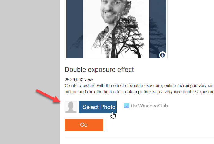 Best online tools to add double exposure effect