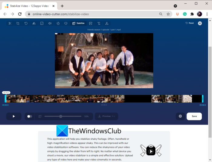 Best free Online Video Stabilizer tools and software for Windows 11/10