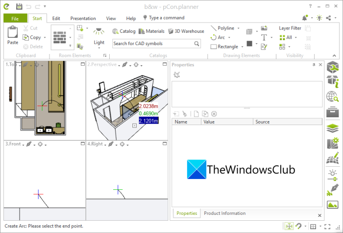 How to edit an SKP model in Windows 11/10