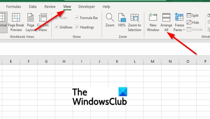 Microsoft Excel Tabs missing [Fixed]
