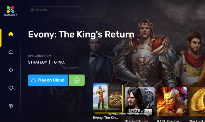 How to play Android games in the cloud on Windows with BlueStacks X
