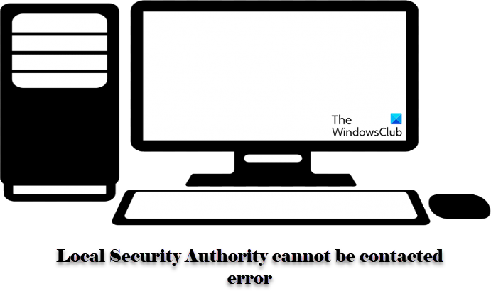 Local Security Authority cannot be contacted