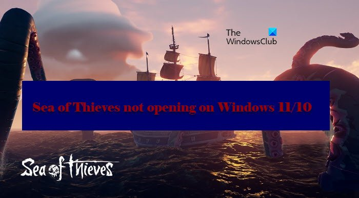 Sea of Thieves not opening on Windows 11/10