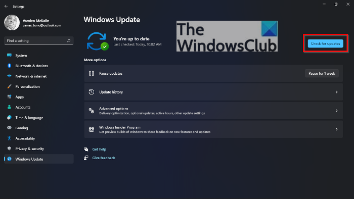How to update Windows 11 manually