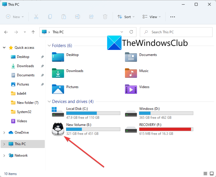 Change Drive Icon in Windows 11/10